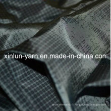 Le tissu est décoré de polyester pour la nappe