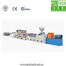 Feuille de plastique PP/PE/PVC/ligne de Machine