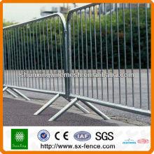 Sparen Sie Zeit Installieren Sie temporäre Barriere Zaun