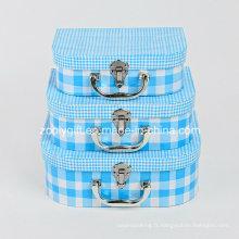 Vente en gros de carton Cadeau de jouets Boîte de rangement pour valises en papier