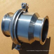 POV made stainless steel sanitary food grade check valve cf8m