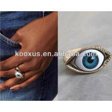Модные кольца украшения