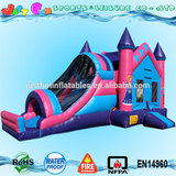 new-designed cheap inflatable bouncers for sale,inflatable bouncy castle combo with slide