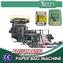 Sacos de papel de válvula multifunções que fazem a máquina
