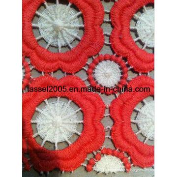 Химическая вышивка Allover Lace Fabric Factory