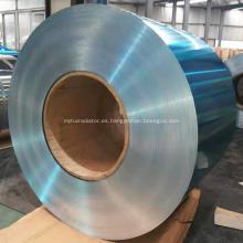 Papel de aluminio recubierto de azul para refrigerador