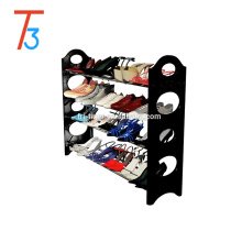 Stackable Shoe Rack Organizer Storage Bench for 4 tier
