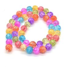 8mm Colorful Natural Crystal Crack Beads for Accessories and Adornment from China Wholesaler