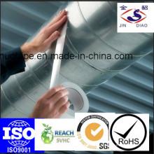 Самоклеящаяся теплоизоляционная алюминиевая воздуховодная лента с отрывным вкладышем