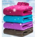 100% polyester fil teinture polaire tissu à tricoter
