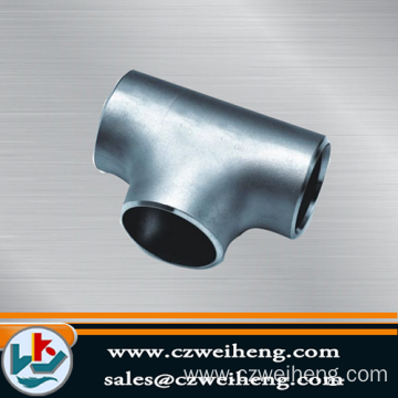 Seamless Butt Welded Pipe Fitting Equal