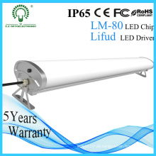 Aluminium 30W / 40W / 50W / 60W LED Tri-Proof Licht Epistar Chip IP65 LED Beleuchtung