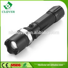 Impermeável IP66 China lanterna de alumínio poderosa tocha