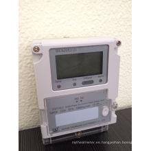 Medidor eléctrico sin hilos simple de la fase con PLC / GPRS