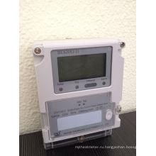 Однофазный интеллектуальный беспроводной электрический счетчик с PLC / GPRS