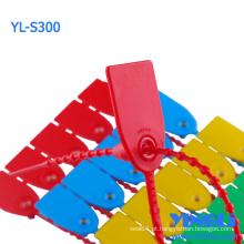 Selo plástico inviolável da segurança para o recipiente (YL-S300)