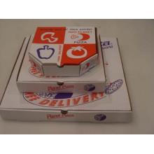 Caixas de pizza de papel personalizado