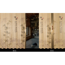 Cortina de puerta de bambú para la venta