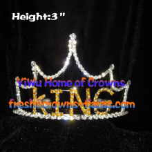 Crystal King Prince Tiaras and Crowns
