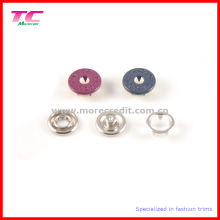 Colorful Metal Prong Snap Button for Clothing