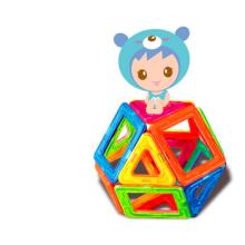 Palo magnética DIY juguetes niños bloques