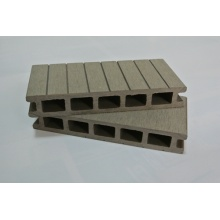 Synthetic Long-Life Span Wood Plastic Composite Decking Floor Veranda Decking Balcony Floor