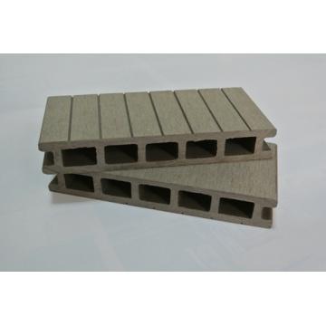 Plástico de longa vida sintética de madeira composto de plástico Decking piso varanda Decking varanda