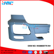 Truck Parts Factory Corner Bumper For Mercedes Benz 9438800770