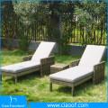 Asian Vietnam Luxury Classic White Pool Sun Lounge Chairs