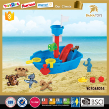 2016 Kid play beach toys set pirate ship toys