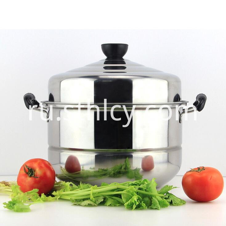 Stainless Steel Pot And Lid