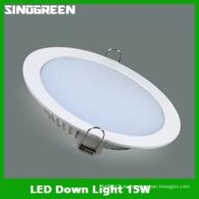 Alta calidad LED abajo luz 15W