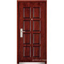 Porta de madeira de aço (WX-SW-104)