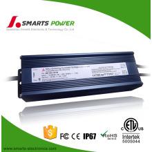 120W 10A 12Volt conduziu o doler ip67 impermeável do motorista do diodo emissor de luz da fonte dimmable
