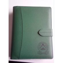 2018 Le livre le plus récent de livre de journal, cahier en relief de style en cuir