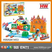 Hot Sale Viking Tribe B/O Play Train Railway Set Toy