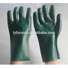 Luvas de trabalho industriais anti-químicos PVC