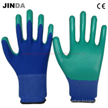 Nitrile Coated Labor Protective Gloves (NS010)