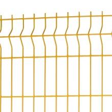 holanda valla de malla de alambre curvada 3d para granja