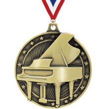 Factory directly sale for Metal Medallions Piano Silver Medal For Musical Instrument Collection supply to France Exporter