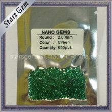 Fonte de cire de bonne qualité Green Nano Beads