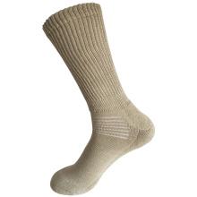 Halbe Kissen Sorbtek Coolmax Diabetische Gesundheitswesen Medical Khaki Socken (JMDB02)