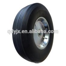Лучшая цена 10'' x2.5'' дюймов твердых колесо для тележки тележки