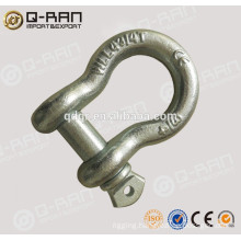 QINGDAO Q-RAN Rigging Factory Hot Dip Galvanized Stee Shackle