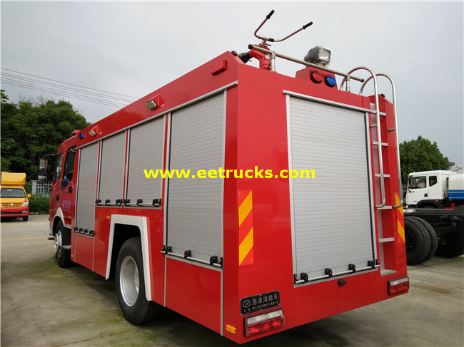 Dongfeng Fire Fighting Water Trucks