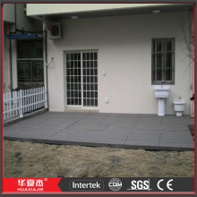 Black Vinyl Flooring Tiles For Balcony