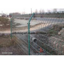 Защитное ограждение (забор из сварной сетки)
