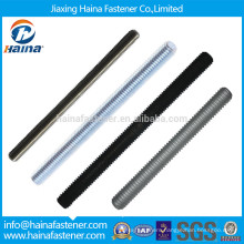 4.8 Grade zinc plated din975 and din976 thread rod, B8 Threaded rod B7 threaded rod