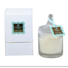 Crystal Jar Candle Scented Soy Candle