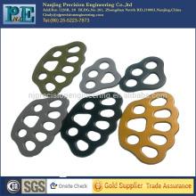 Personalizada de alta precisión galvanizando varios colores de las piezas de automóviles